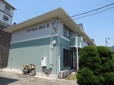 里庄町新庄グリーンクレスト「サンフォルムMark Ⅱ」 2DK 賃料¥40,500