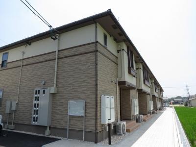 玉島乙島「グランドソレイユ」 2DK 賃料¥48,000