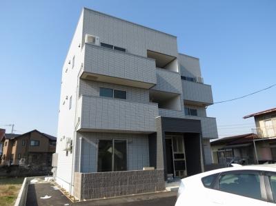 【新築】玉島1丁目「テラホーム」 1LDK 賃料¥59,000~¥60,000