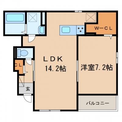 【新築】玉島乙島「ワンゾーラ」 1LDK・2LDK
